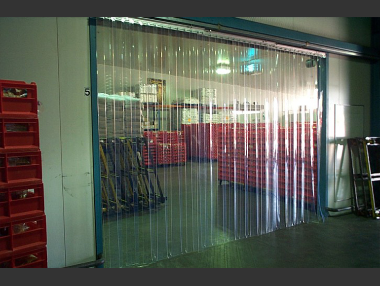 We Carry A Large Range Of PVC Strip Door Curtains Can Supply Them In Rolls Or Cut The Strips According To Your Size